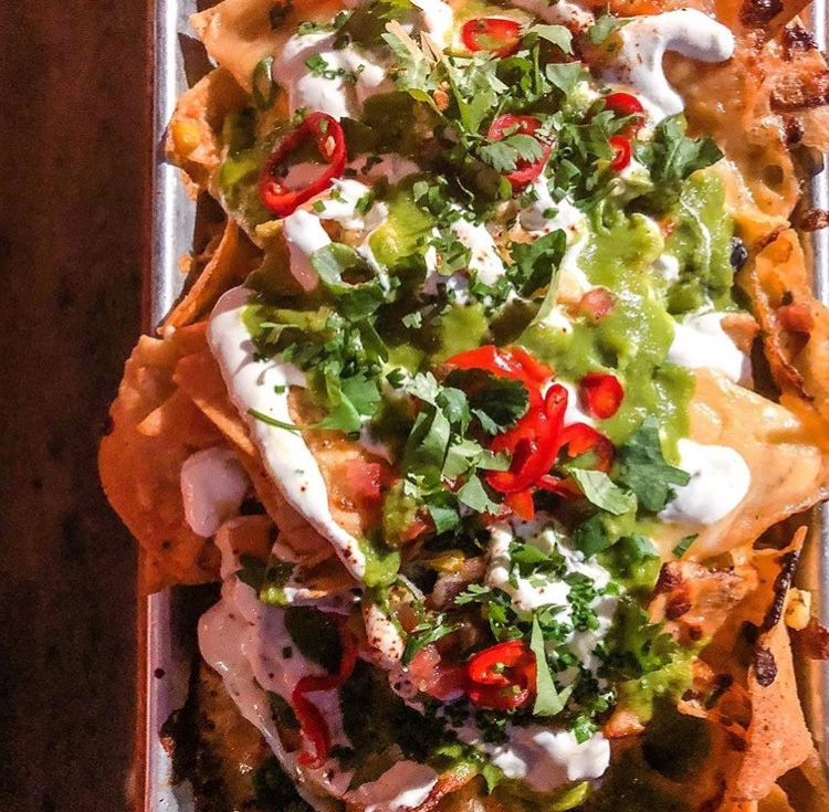 Nachos at Loco