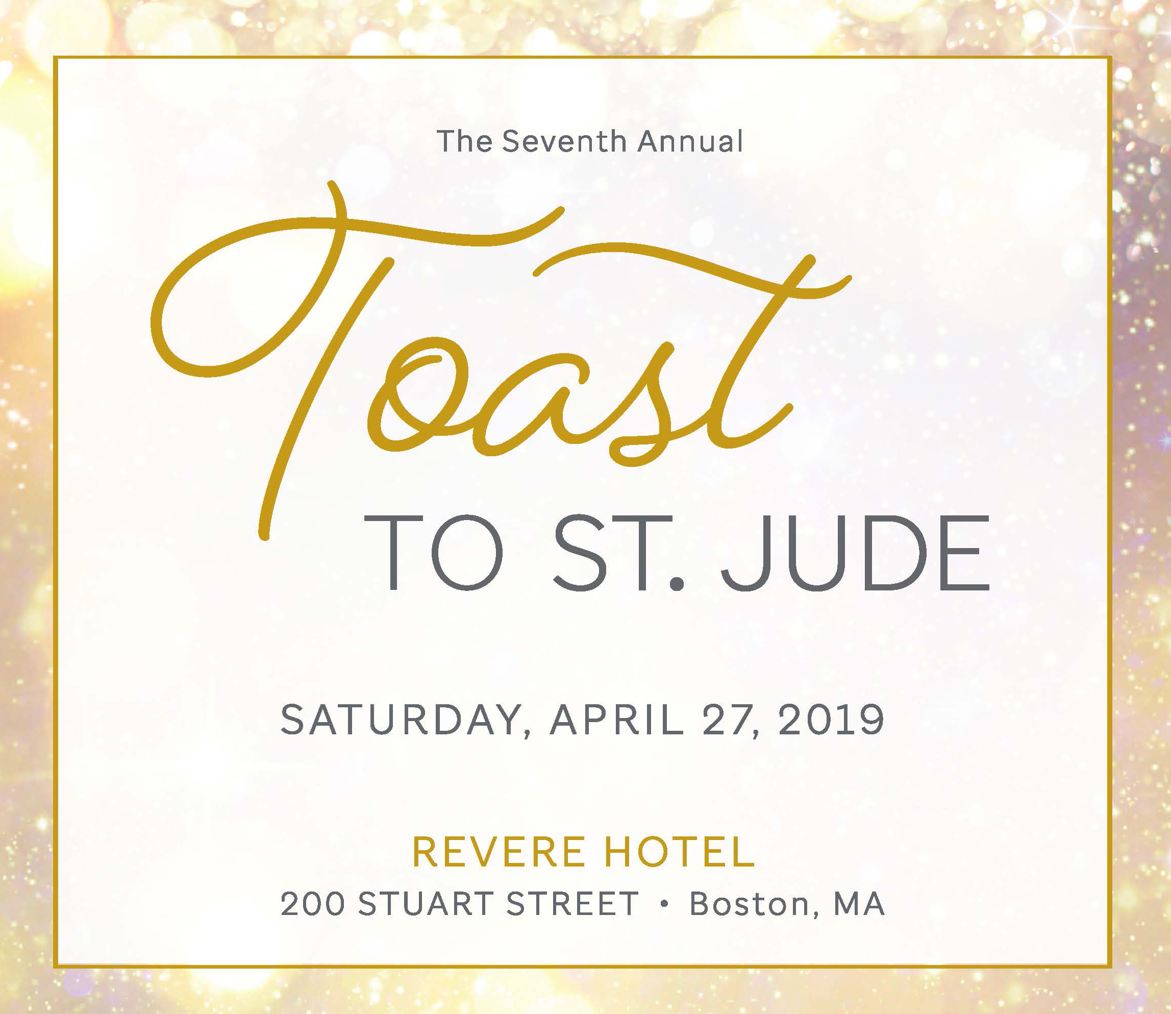 Toast To St. Jude Event