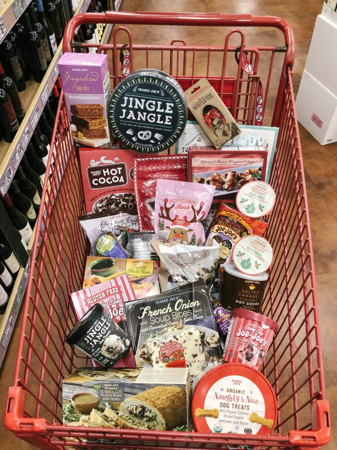 Holiday Seasonal items at Trader Joe's