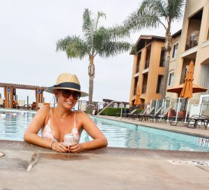 Pool day at my staycation at The Cassara Carlsbad