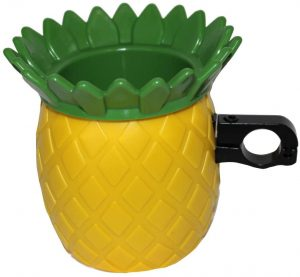 Pineapple Beach Cruiser Bike Koozie