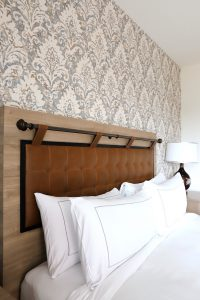 Comfy Hotel bed in San Diego, The Cassara Carlsbad