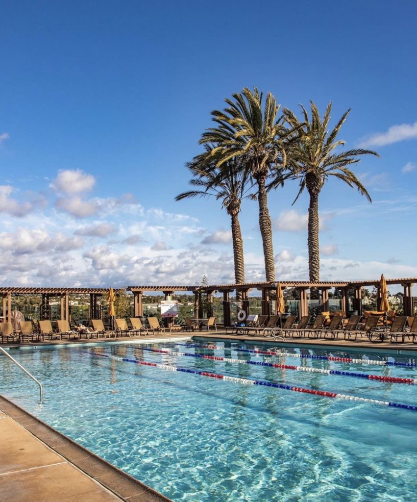 The perfect pool at The Cassara Carlsbad
