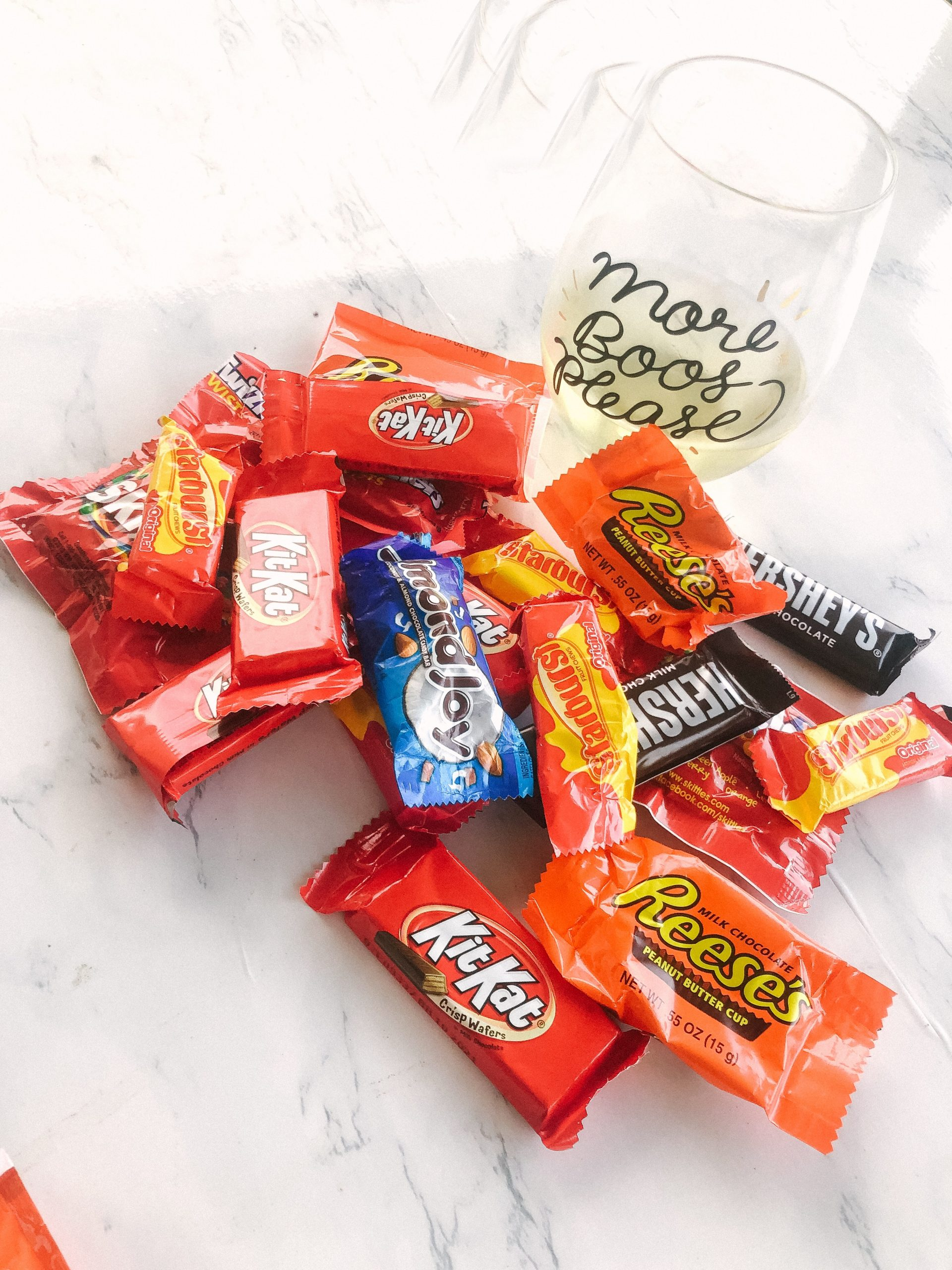 Wine & Halloween Candy Pairing Guide