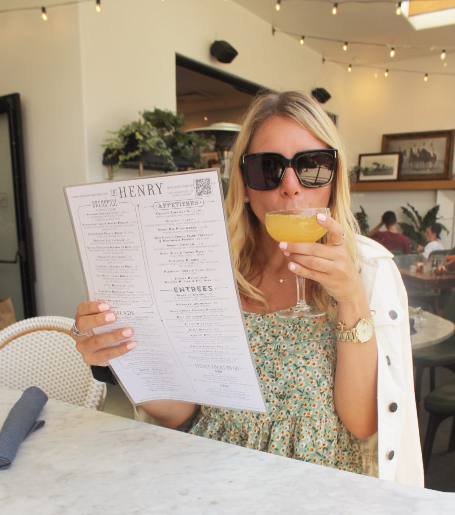 Brunch and Mimosas at The Henry Coronado