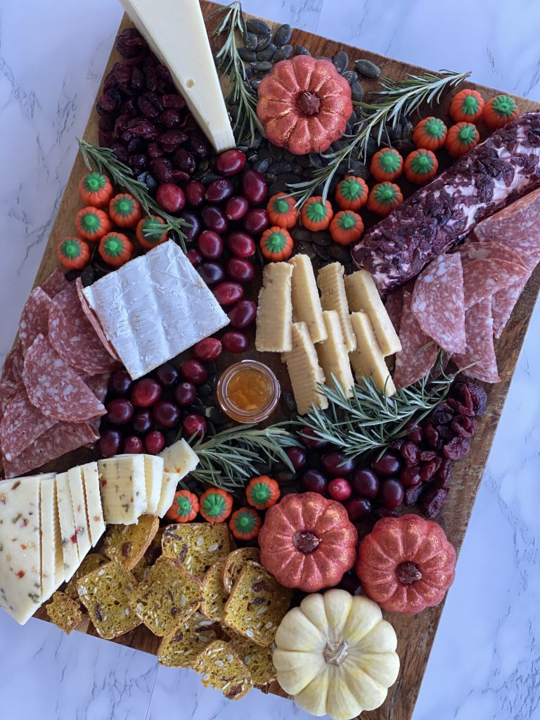 The Best Fall Cheese Board