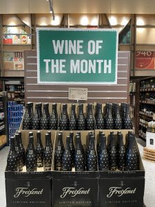 Wine of the month at Barons Market