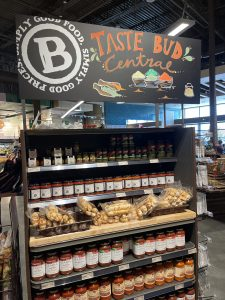 Taste Bud Central - Pasta Section at Barons Market