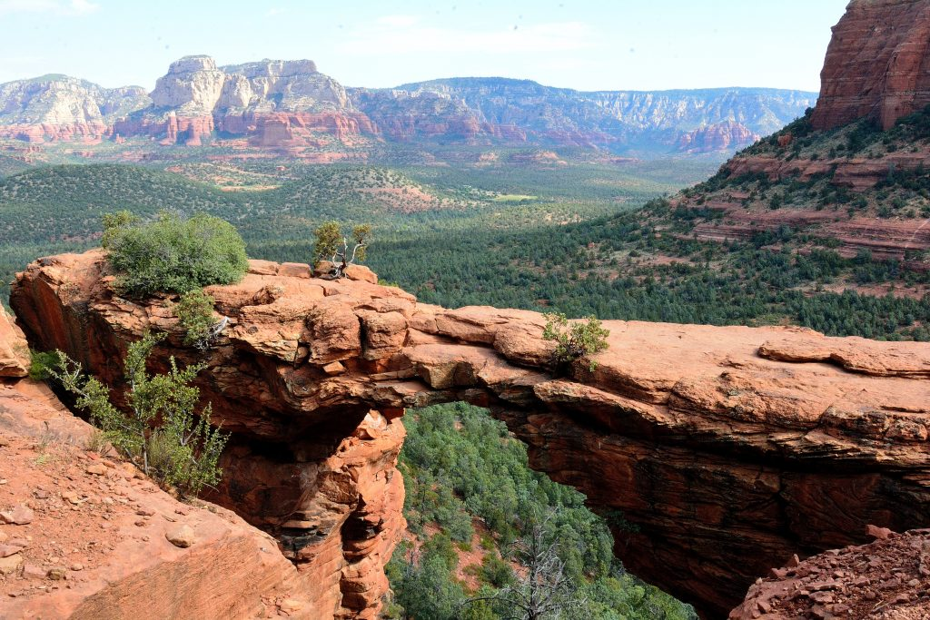 Devil's Bridge hike in Sedona, AZ