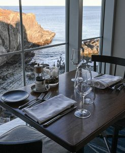 The Tiller Restaurant View at Cliff House Maine